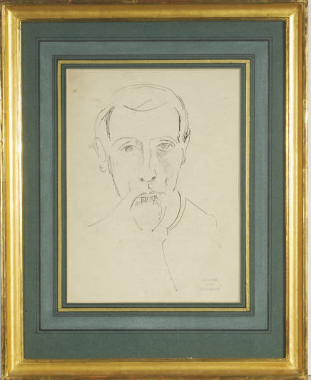 Portrait of a bearded man
