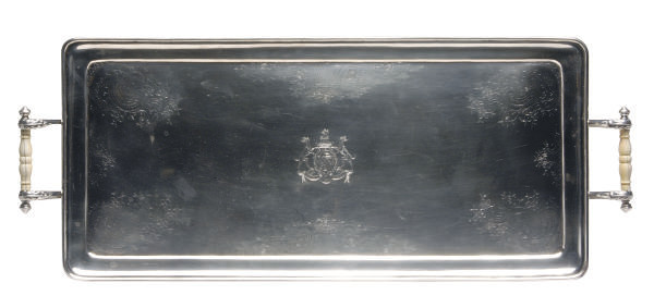 AN AMERICAN SILVER RECTANGULAR