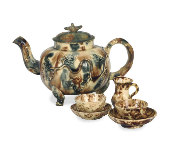 A GROUP OF STAFFORDSHIRE WHIEL