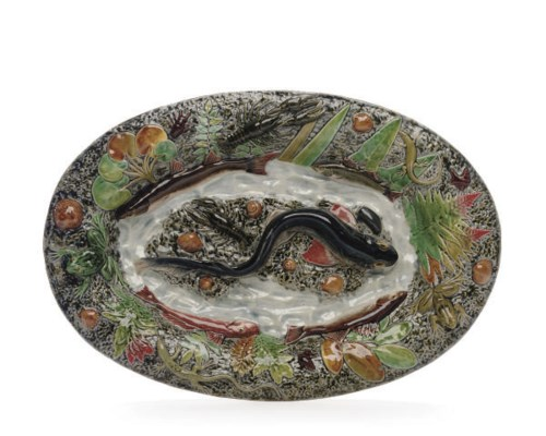 A FRENCH PALISSY-STYLE TROMPE