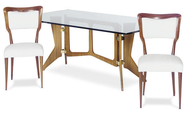 AN ITALIAN DINING SUITE,
