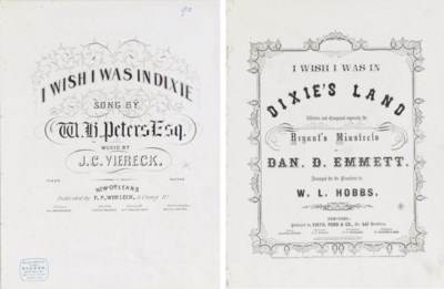 [EMMETT, Daniel Decatur (1815-