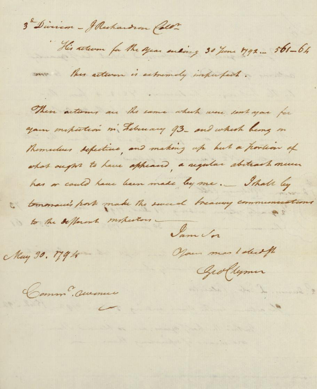 [CLYMER, George (1739-1813), S