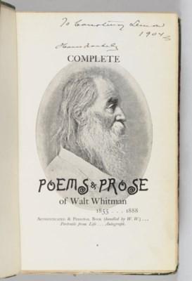 WHITMAN, Walt (1819-1892). Com