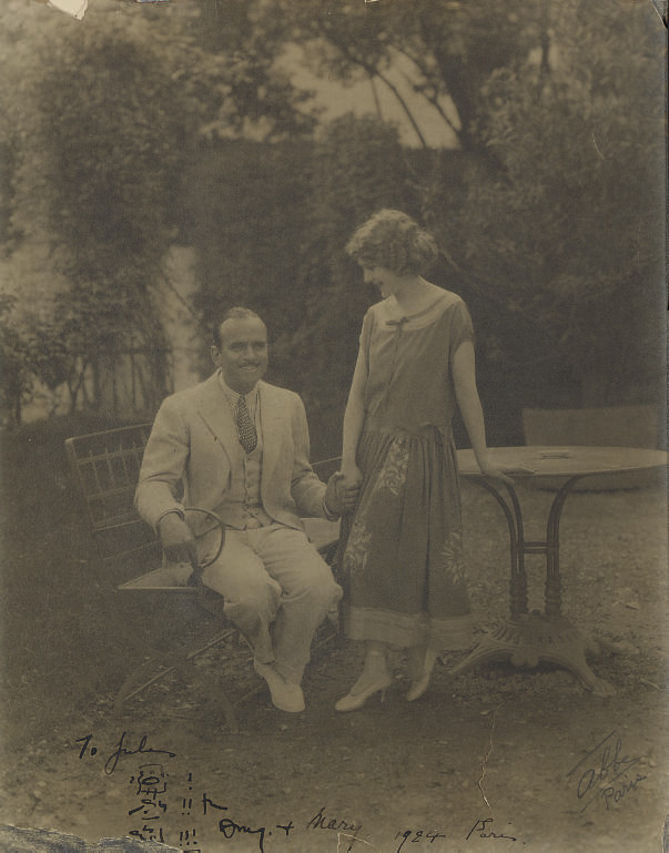 Douglas Fairbanks/Mary Pickfor