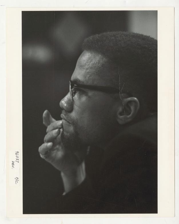 Malcolm X Roy Schatt
