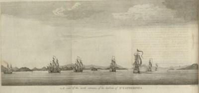 [ANSON, George (1697-1762)]. W