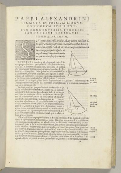 APOLLONIUS Pergaeus (ca 260-ca