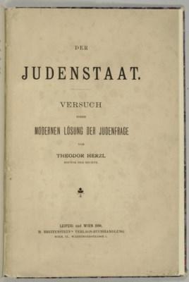 HERZL, Theodor (1860-1904). De