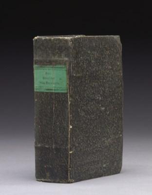 KANT, Immanuel (1724-1804). Cr