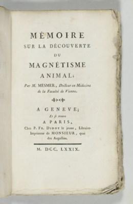 MESMER, Franz Anton (1734-1815