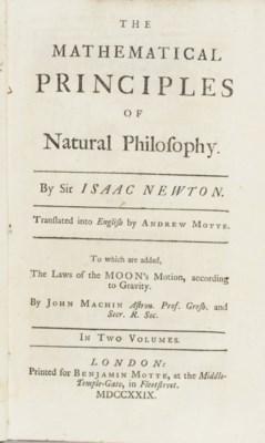 NEWTON, Sir Isaac. The Mathema