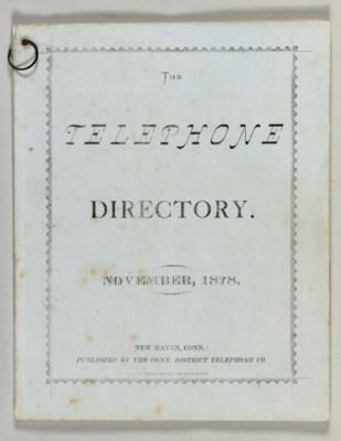 The Telephone Directory. [Volu