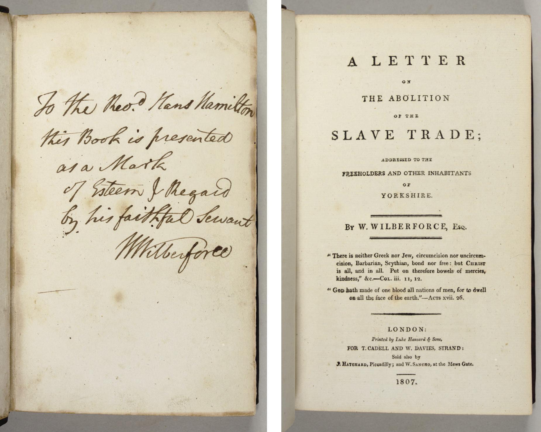 WILBERFORCE, William (1759-183