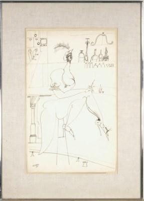 Saul Steinberg (American, 1914