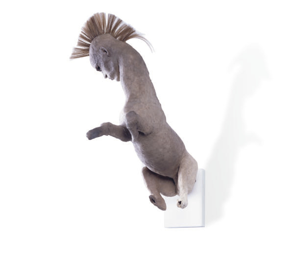 Centaur with a mohawk head