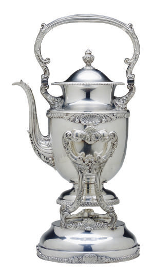 AN AMERICAN SILVER-PLATED HOT