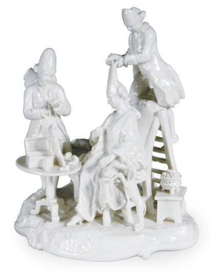 A GERMAN PORCELAIN SATIRICAL F