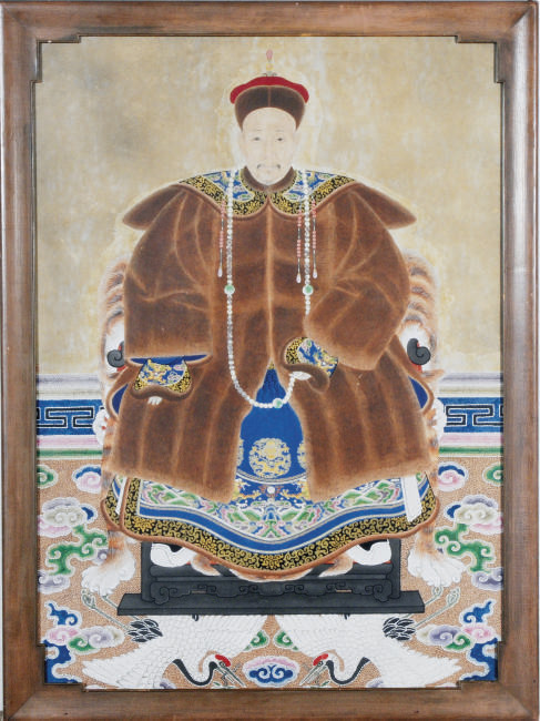A CHINESE ANCESTOR PORTRAIT,