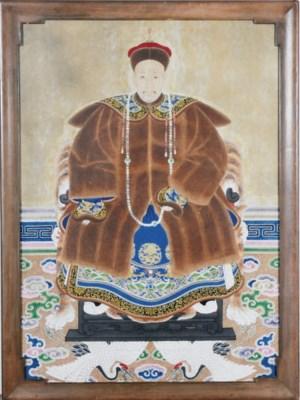 A CHINESE ANCESTOR PORTRAIT,