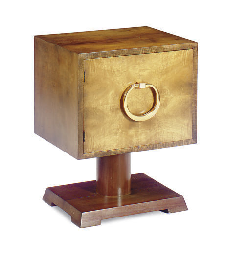 A GILT-BRONZE MOUNTED WALNUT S
