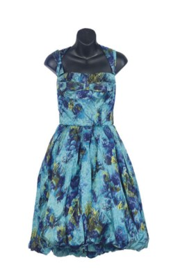 A HAUTE COUTURE PAULE BLUE AND