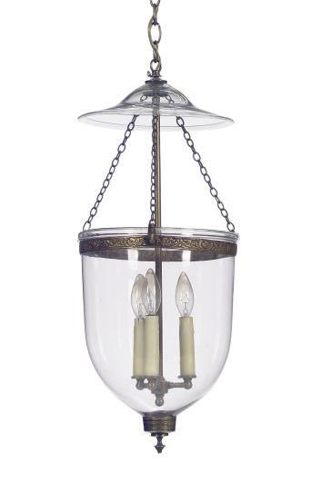 THREE GILT-METAL MOUNTED GLASS