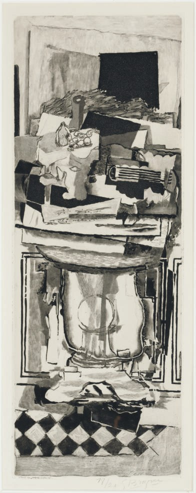 AFTER GEORGES BRAQUE BY JACQUE