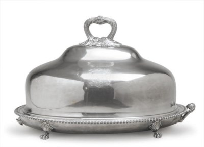 A LARGE SILVER-PLATED WARMING