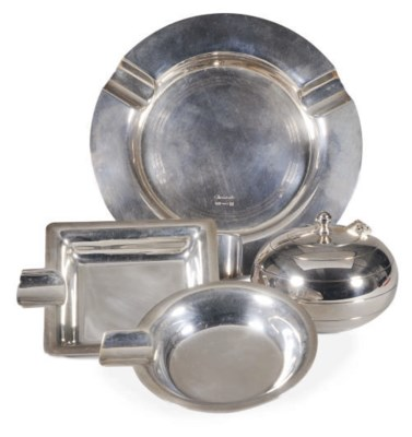 A GROUP OF ITALIAN SILVER VIDE