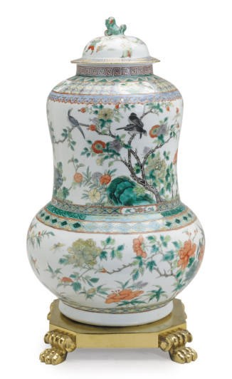 A CHINESE FAMILLE VERT PORCELA