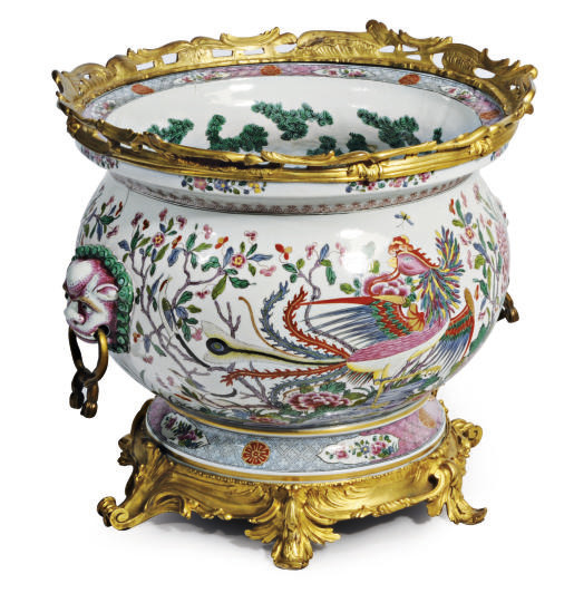 A GILT-METAL MOUNTED CHINESE-S