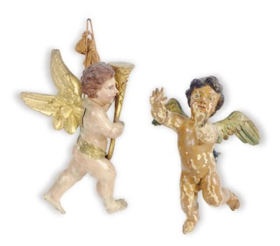 EIGHT FIGURAL WALL HANGINGS,