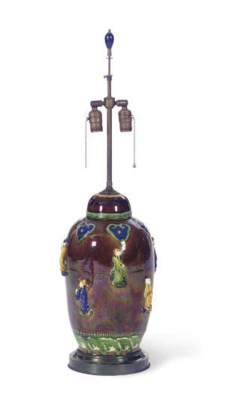 A CHINESE POLYCHROME AND LUSTR