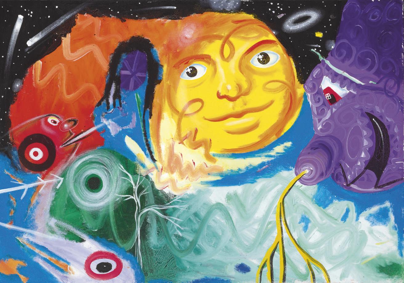 Kenny Scharf (b. 1958)