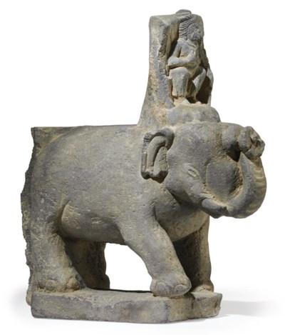 A gray schist figure of a Budd
