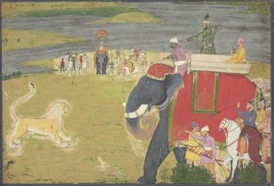 Nainsukh of Guler Raja Balwant