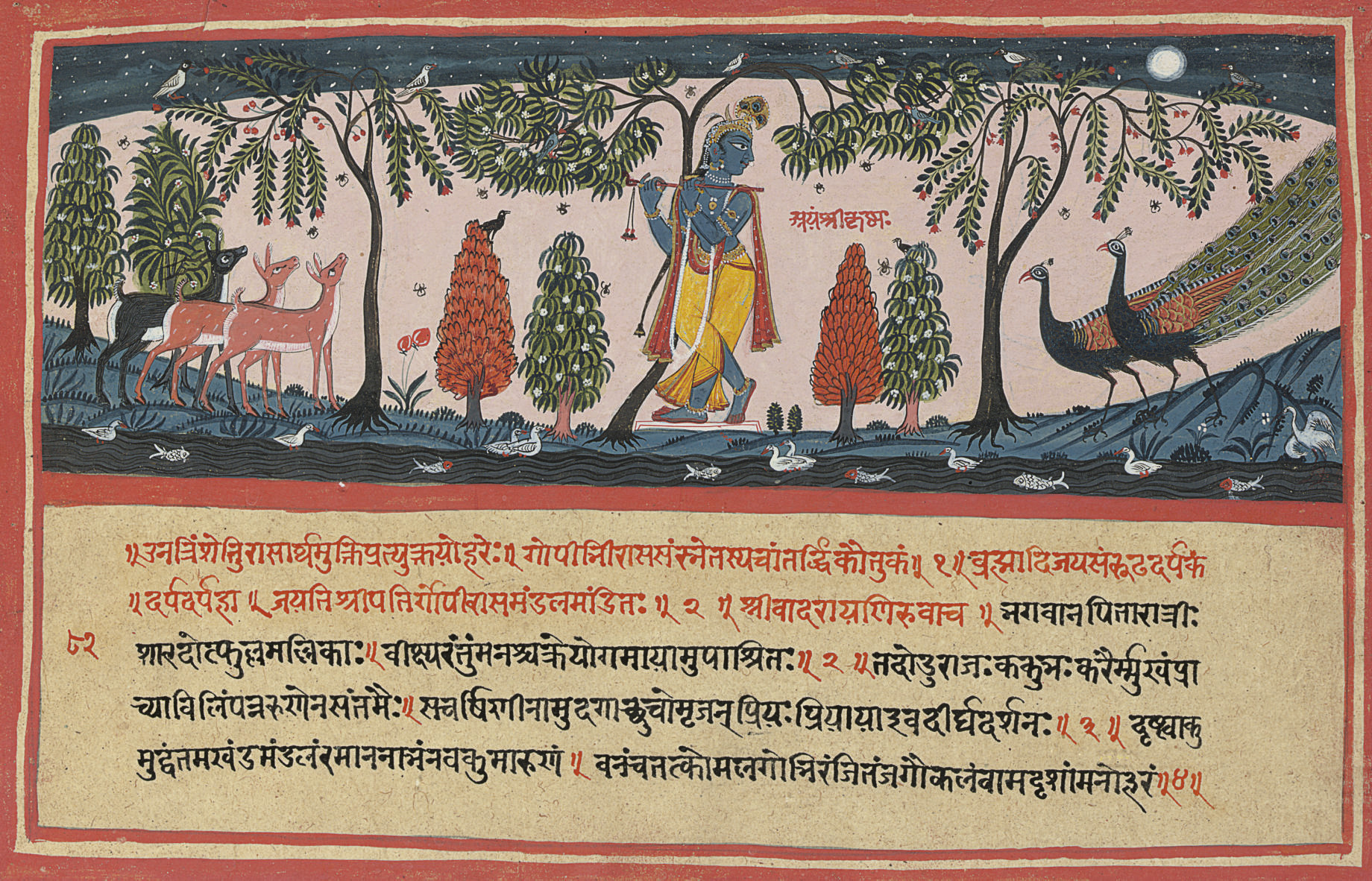An Illustration to a Bhagavata