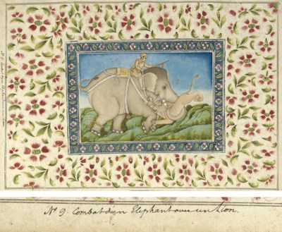 A folio from the Polier Album: