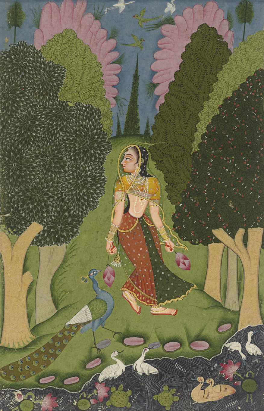 A painting from the Kakubha Ra