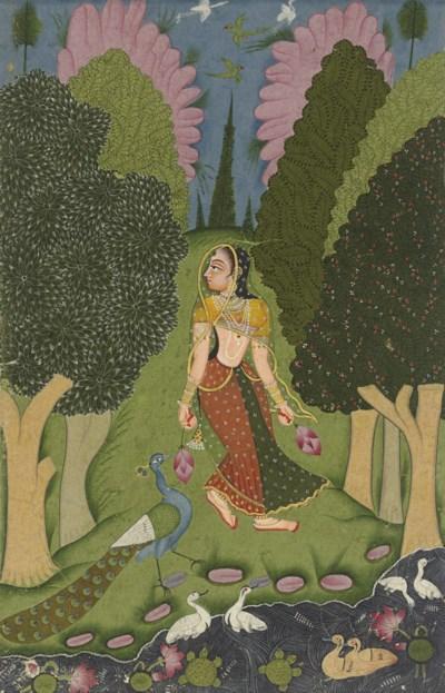 A painting from the Kakubha Ra