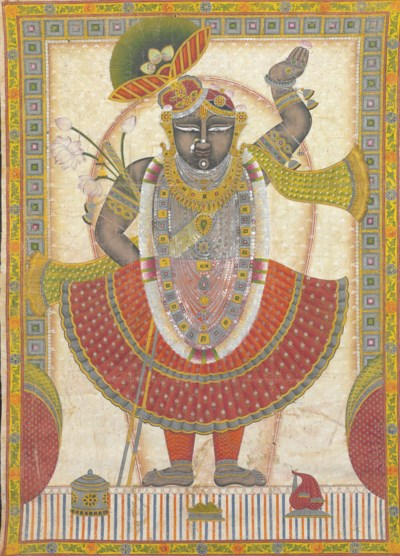 A picchvai of Shri Nathji Shri