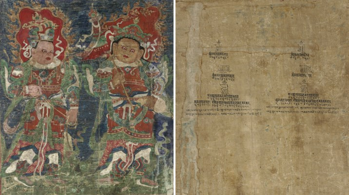 A thangka of Virupaksha and Va