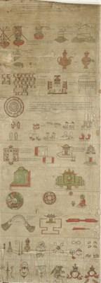 A ritual scroll