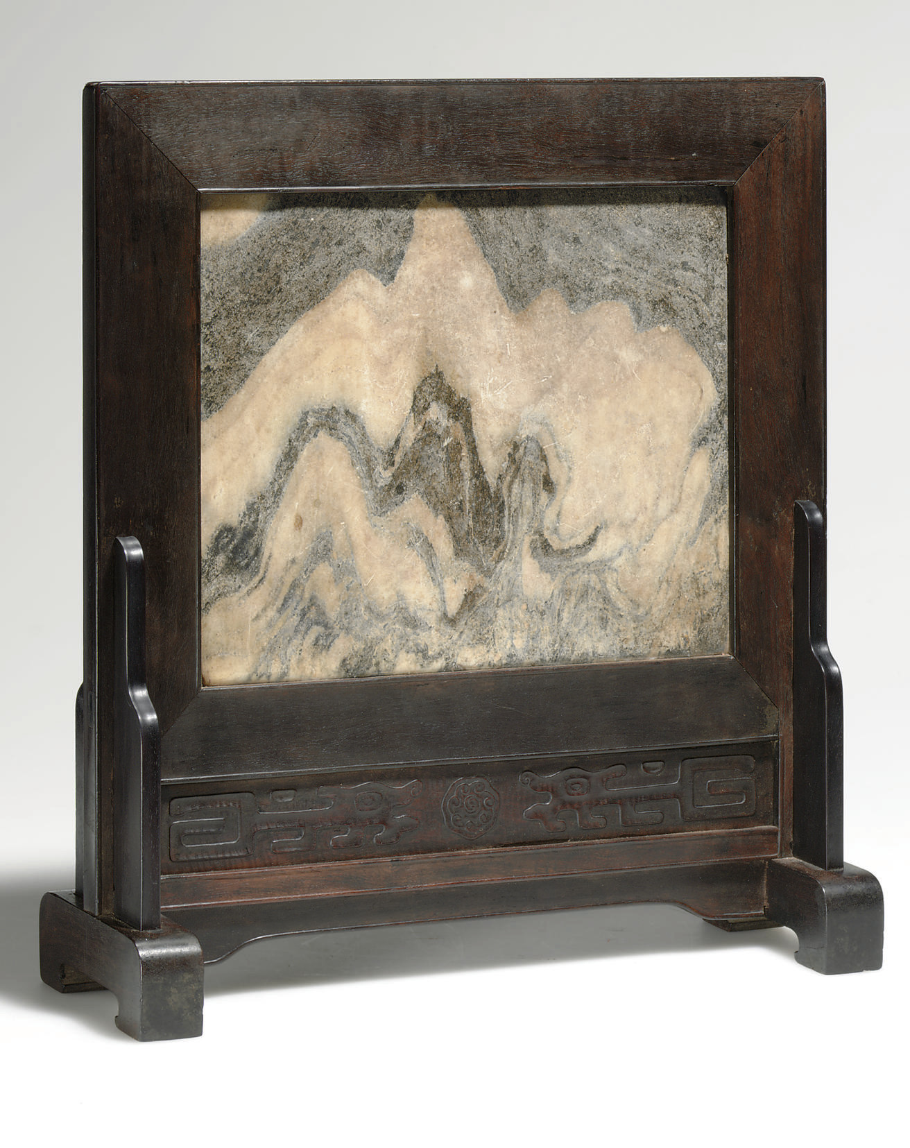A DALI MARBLE AND ZITAN TABLE