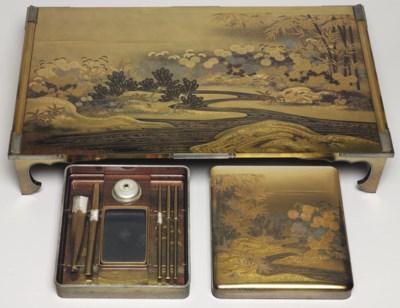 A Writing Box (Suzuribako) and