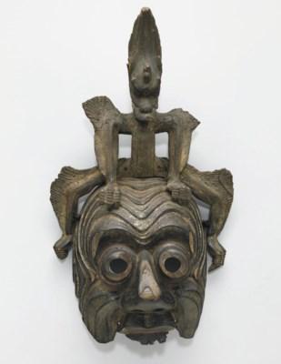 A Mask for the Bugaku Dance