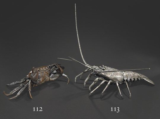 A Silver Articulated Model of