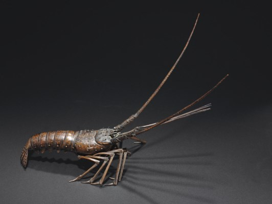 A Bronze Articulated Model of