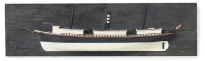 A half model of the sail-steam